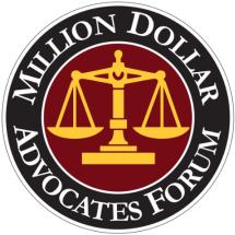 Lawyer Award Million Dollar Advocates Forum